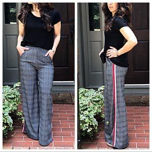 Pants - ✨LAST ONE✨PARIS pocket side striped palazzo pants